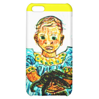 Child with Rabbit iPhone 5C Cover