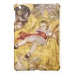 Child with Saint Bernard Vintage Art  iPad Mini Cases
