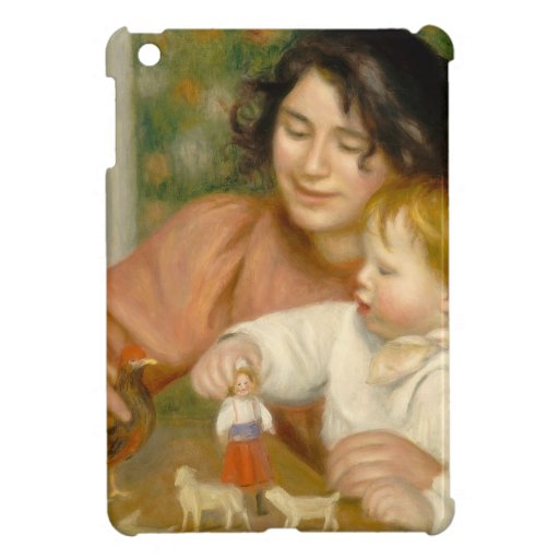 Child with Toys, Gabrielle and the Artist's son Case For The iPad Mini