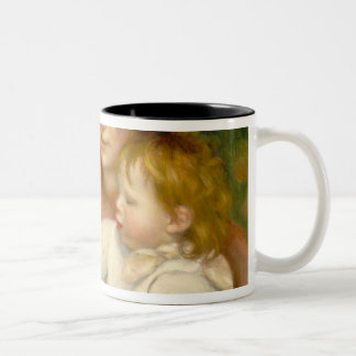 Child with Toys, Gabrielle and the Artist's son Mug