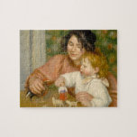 Child with Toys, Gabrielle and the Artist's son Puzzle
