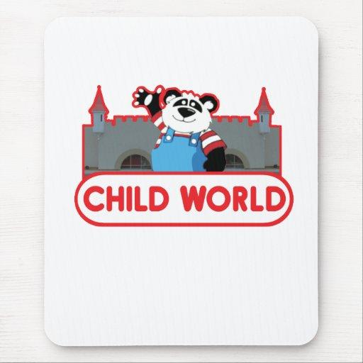 Child World Mouse Pad