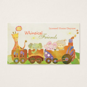 Daycare business cards templates zazzle childcare daycare babysitter business cards colourmoves Gallery