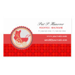 Childcare Occupations Cute Baby Carriage Business Card Template