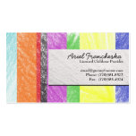 Childcare Provider Business Card Template