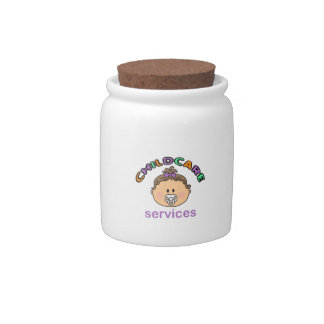 CHILDCARE SERVICES CANDY JAR