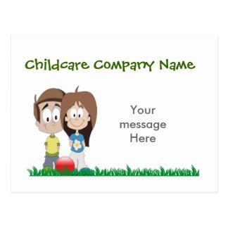 Childcare - Summer Camp - School Business Theme Postcard