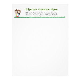 Childcare - Summer Camp - School Letter Head Letterhead