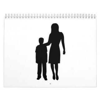 Childcare worker calendar