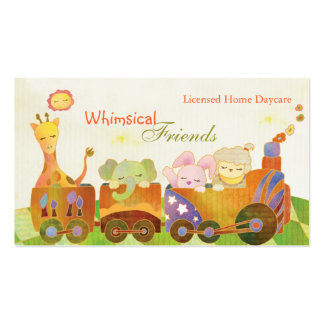 ChildcareProviders, BabySitters, Daycare Business Double-Sided Standard Business Cards (Pack Of 100)