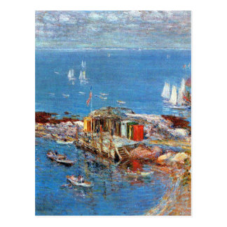 Childe Hassam - Afternoon in August Appledore Postcard