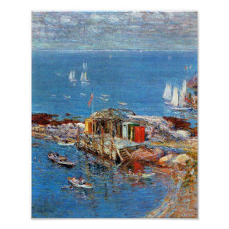 Childe Hassam - Afternoon in August, Appledore Poster