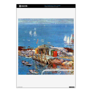 Childe Hassam - Afternoon in August Appledore Skins For PS3 Slim