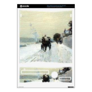 Childe Hassam - Along the Seine Winter Xbox 360 S Decals