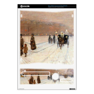 Childe Hassam - An urban fairy tale land Decals For Xbox 360 S