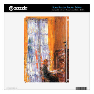 Childe Hassam - At the desk Decals For Sony Reader