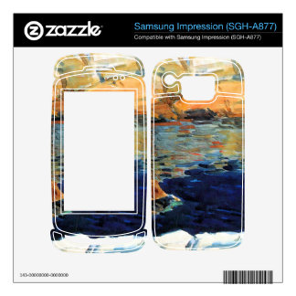 Childe Hassam - Beryl look at the pond Samsung Impression Skins