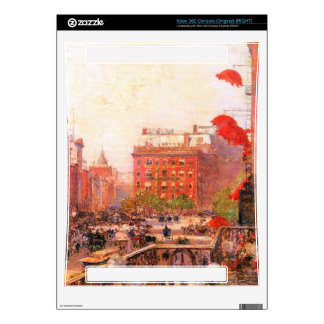 Childe Hassam - Broadway and Fifth Avenue Skin For The Xbox 360