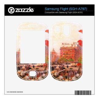 Childe Hassam - Broadway and Fifth Avenue Skin For Samsung Flight