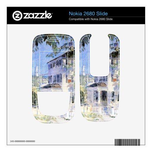 Childe Hassam - calle en Portsmouth Nokia 2680 Slide Skins