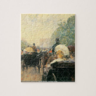 Childe Hassam - Carriage Parade puzzle