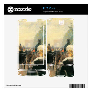 Childe Hassam - Carriage Parade HTC Pure Skin