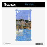 Childe Hassam - Cat Boats Newport Skins For iPhone 4S