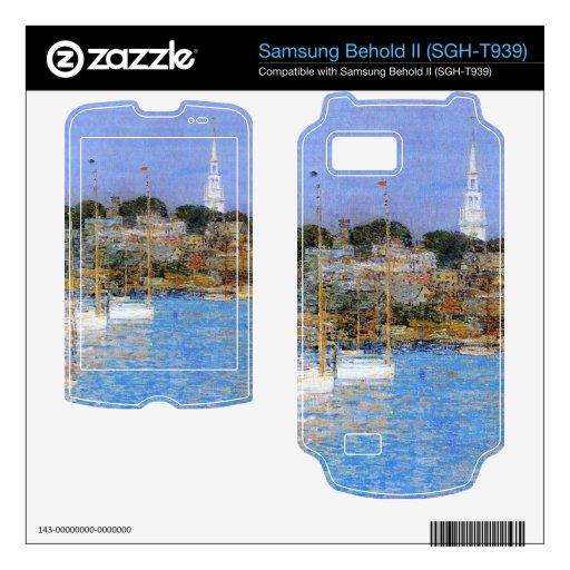 Childe Hassam - Cat Boats Newport Samsung Behold II Skins