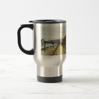 Childe Hassam - Charles River und Beacon Hill Coffee Mugs