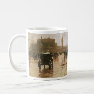 Childe Hassam - Columbus Avenue Coffee Mug