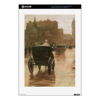 Childe Hassam - Columbus Avenue PS3 Decals