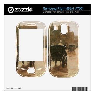 Childe Hassam - Columbus Avenue Skin For Samsung Flight