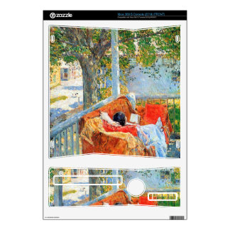Childe Hassam - Couch and Veranda at Cos Cob Xbox 360 S Skins