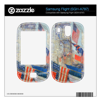 Childe Hassam - Day of allied victory 1917 Skin For Samsung Flight