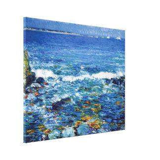 Childe Hassam - Duck Island From Appledore Canvas Print