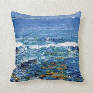 Childe Hassam - Duck Island From Appledore Throw Pillow
