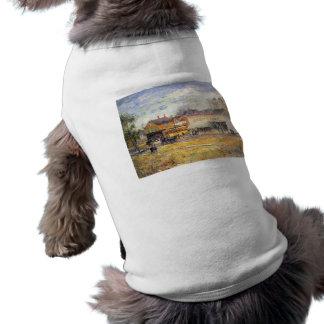 Childe Hassam - End of the tram Oak Park Illinois Dog Tee Shirt
