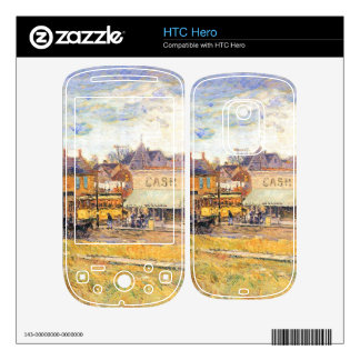 Childe Hassam - End of the tram Oak Park Illinois Decal For The HTC Hero