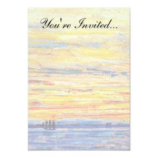 Childe Hassam - Evening Card
