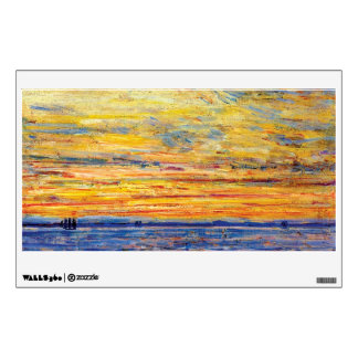 Childe Hassam - Evening Wall Decal
