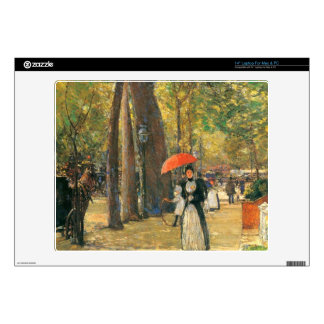 Childe Hassam - Fifth Avenue and Washington Square Laptop Decal
