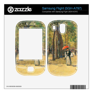 Childe Hassam - Fifth Avenue and Washington Square Decal For Samsung Flight