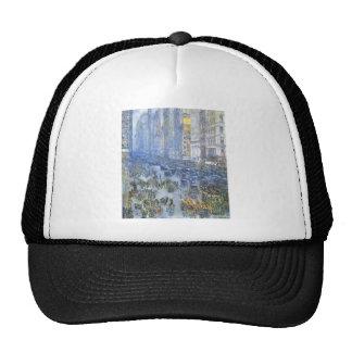 Childe Hassam - Fifth Avenue Mesh Hat