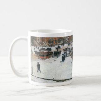 Childe Hassam - Fifth Avenue in Winter Coffee Mug