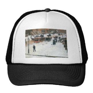 Childe Hassam - Fifth Avenue in Winter Trucker Hats