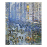 Childe Hassam - Fifth Avenue Poster