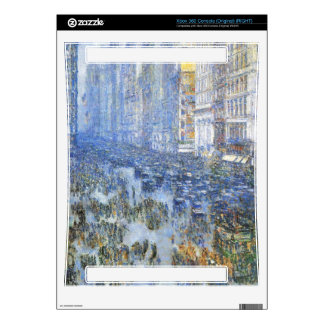 Childe Hassam - Fifth Avenue Skins For Xbox 360