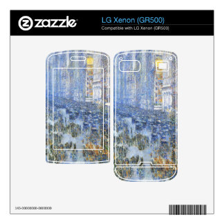 Childe Hassam - Fifth Avenue Decals For The LG Xenon