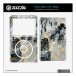 Childe Hassam - Flags on Fifth Avenue Winter 1918 Skin For The iPod Video