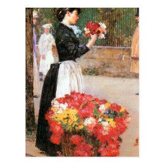 Childe Hassam - florista Postal